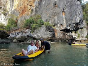 excursion bateau Phuket Thailande Kayak