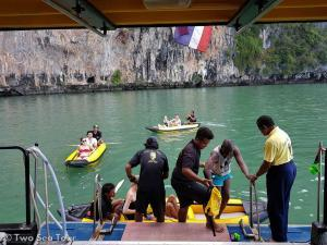 excursion bateau Phuket Thailande